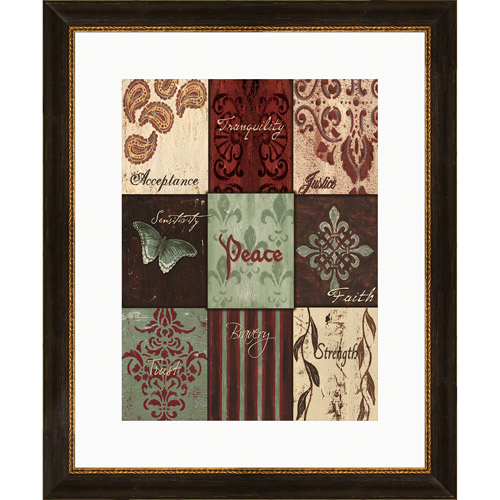 Pro Tour Memorabilia Peace Inspiration Under Glass Print
