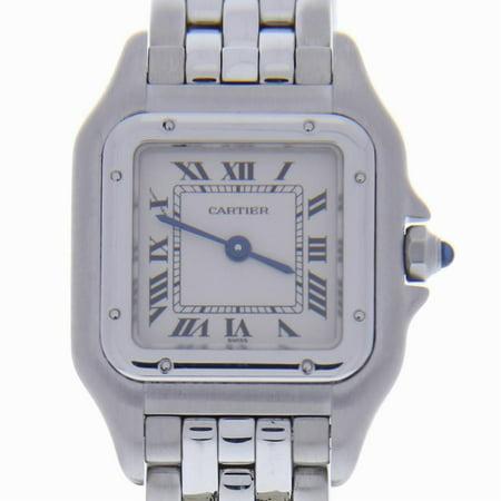 Cartier Panthere De Cartier 1320 Steel Women Watch (Certified Authentic & Warranty)