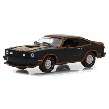 1978 Ford Mustang Cobra II Black with Gold Stripes 1/43 Diecast Model Car by