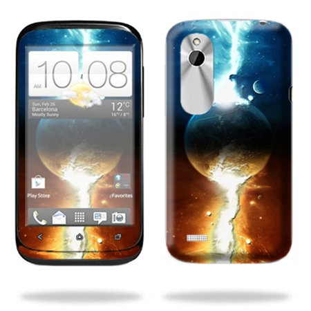 Skin Decal Wrap For Htc Desire X T328e Cell Phone Sci Fi