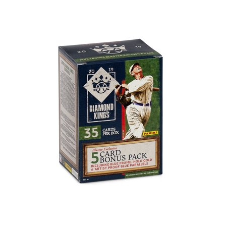 2019 Panini Diamond Kings Baseball Blaster Box- 40 MLB Trading Cards | 8 Parallels per box | Exclusive Holo Gold Inserts