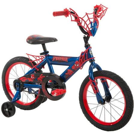 """16"""" Huffy Boys' Ulitmate Spiderman Bike, Red"""