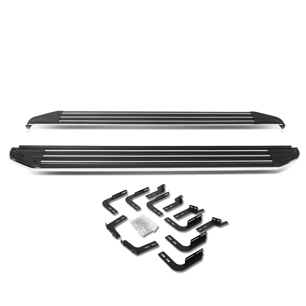 """For 10-16 4Runner N280 Pair of 5.5"""" Aluminum Side Step Nerf Bar Running Board 11 12 13 14 15"""
