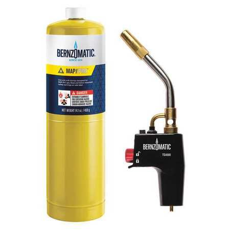 BERNZOMATIC 333603 Trigger-Start Torch Kit 2-Piece by Worthington Cylinder Corp