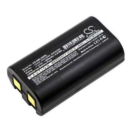 Cameron Sino 650mAh Battery for 3M PL200,DYMO LabelManager 260, LabelManager 280, LabelManager 260P, LabelManager PnP,Rhino