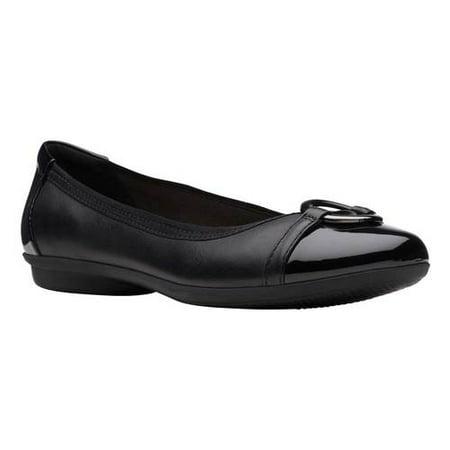 Women's Clarks Gracelin Wind Ballet Flat Fashion Cow Leather Flat
