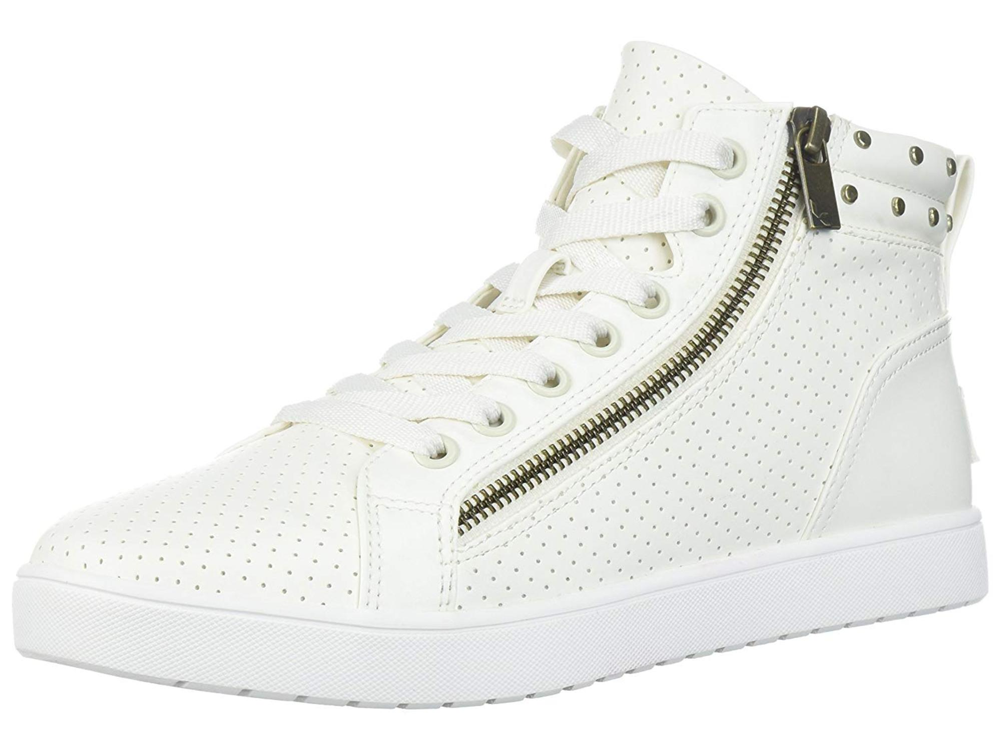 Koolaburra by UGG Women's W Kayleigh High Top Sneaker, White, Size 10.0 by Koolaburra by UGG
