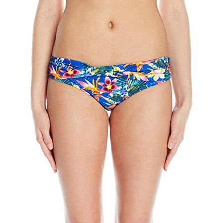 Rose Waistband - Sunsets Women's Sash Low Rise Bikini Bottom Printed, Mahola, M