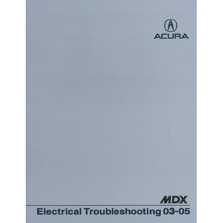 - Bishko OEM Repair Maintenance Shop Manual Bound for Acura Mdx - Electrical Troubleshooting Manual 2003 - 2005