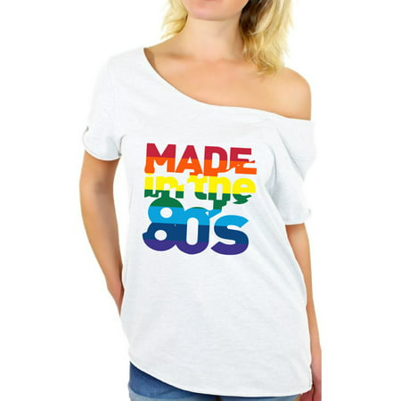 Awkward Styles Made in the 80s Shirt Rainbow 80s T shirt Rainbow Shirt 80s Birthday Shirt Gay Pride Shirt 80s Accessories 80s Rock T Shirt 80s T Shirt 80s Costume 80s Clothes for Women 80s Outfit - 80s Birthday