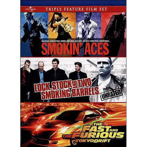 Smokin' Aces / Lock, Stock and Two Smoking Barrels / The Fast and The Furious: Tokyo Drift (Anamorphic Widescreen)