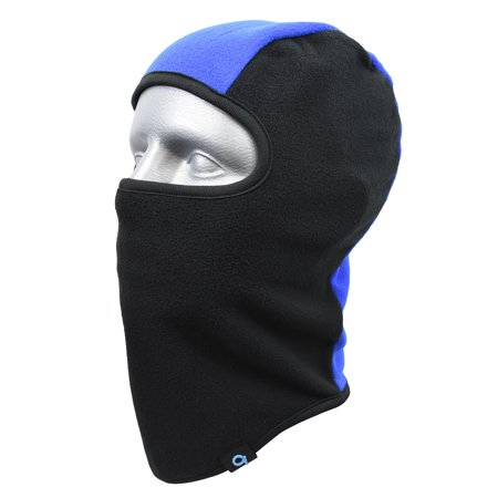 Cold Front Boy's Fleece Color Block Balaclava