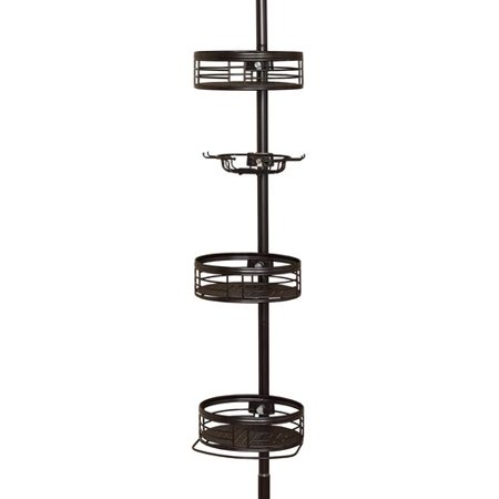 Chapter 3-Shelf Tension Pole Shower Caddy, Oil Rubbed Bronze ...