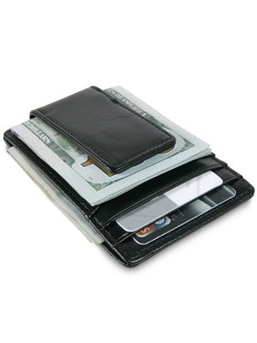 f1aeee87337 Product Image CoreLife RFID Blocking Mens Wallet with Money Clip Vegan Leather  Slim Front Pocket Card Holder