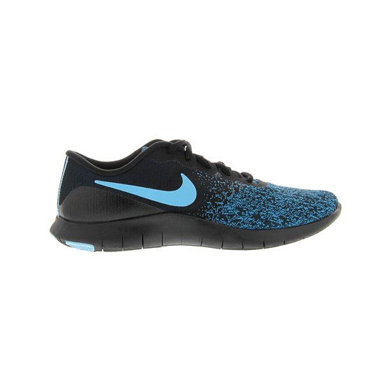 17672cfc3184 Nike Women s Flex Contact Black   Lagoon Pulse - Green Abyss Ankle-High  Running Shoe 6.5M