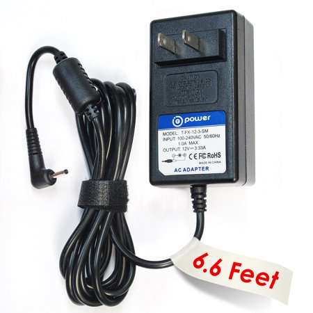 - T-Power ( 6.6ft Long Cable ) AC Adapter fit FOR 12V Samsung ATIV Smart PC XE500T1C-A04US Tablet Replacement switching power supply cord charger wall plug spare