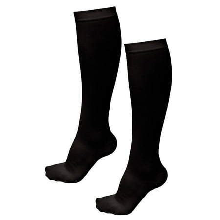 Deluxe Comfort Air Travel Compression Socks, Large/X-Large – Enhances  Circulation Even at High Altitudes – Soothes Tired Aching Feet – Spider