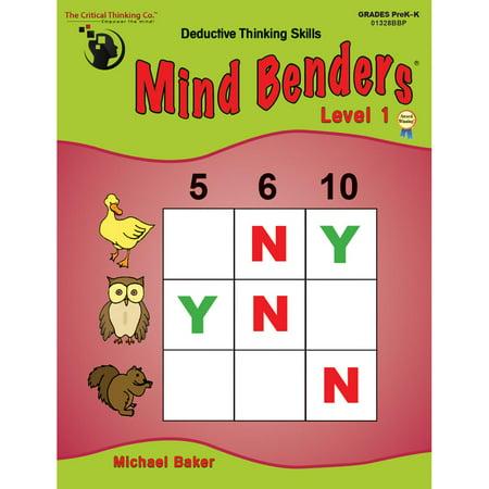 Mind Benders Beginning Book 1 Grades Pre-K - Kindergarten - Halloween Kindergarten Art