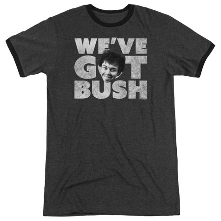 Revenge Of The Nerds Weve Got Bush Officially Licensed Adult Ringer T Shirt