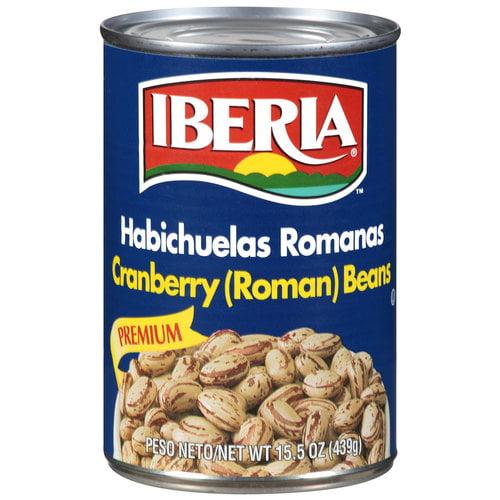 Iberia Premium Roman Cranberry Beans, 15.5 oz