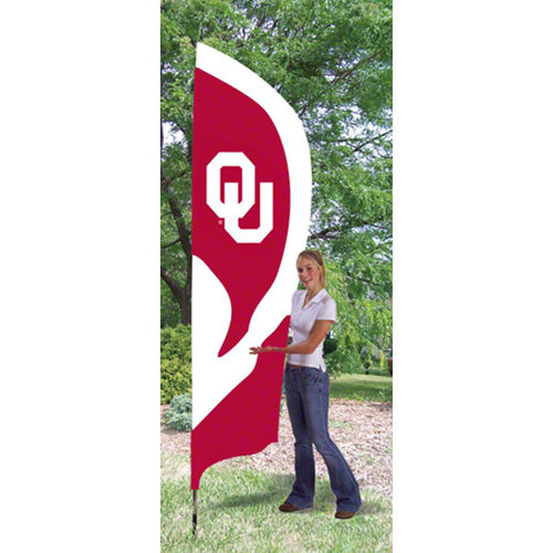 NCAA - Oklahoma Sooners Team Pole Flag