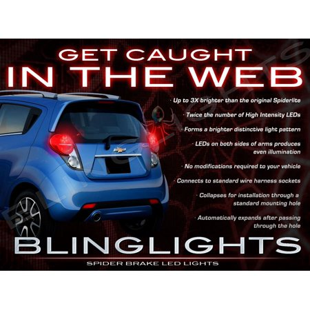 Chevrolet Chevy Spark Custom Led Light Bulbs For Taillamps Taillights Tail Lamps Upgrade Replacement