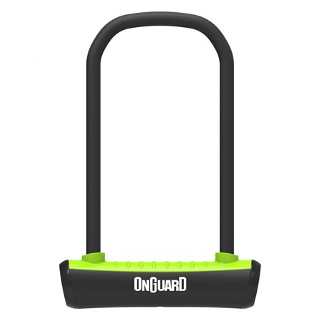 ONGUARD Neon 8153 U-Lock Standard Shackle, Green, 4.5 x 9