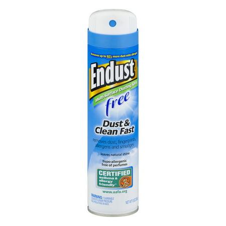 Endust Free Multi-Surface Dusting Spray, 10 oz (Endust Dust)