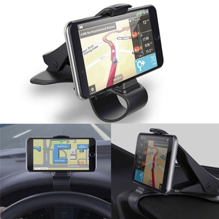 360-Degree Rotation  Car Rotating Dashboard Clip Mount Stand Suitable for 4 to 6.5 inch cell