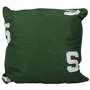 Comfy Feet MSUDPPR Michigan State 16 x 16 Decorative Pillow Set