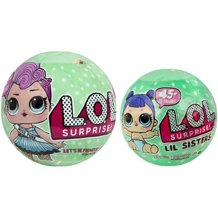 Lol Surprise Series 2 Lets Be Friends  Miss Punk   Little Sister Combo Of 2 Mystery Packs