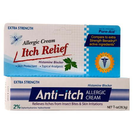 New 304292  Pure-Aid Anti-Itch Cream 1 Oz (24-Pack) Cough Meds Cheap Wholesale Discount Bulk Pharmacy Cough Meds (Best Cough Meds For Toddlers)