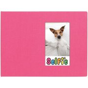 "Selfie 2.25"" x 3.5"" Photo Album - Holds 40 Photos (Pink) for Polaroid PIF-300 Instant & Fuji Instax Mini Film"
