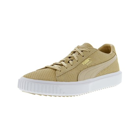 Puma Men's Breaker Suede Pebble Ankle-High Leather Fashion Sneaker - 11.5M
