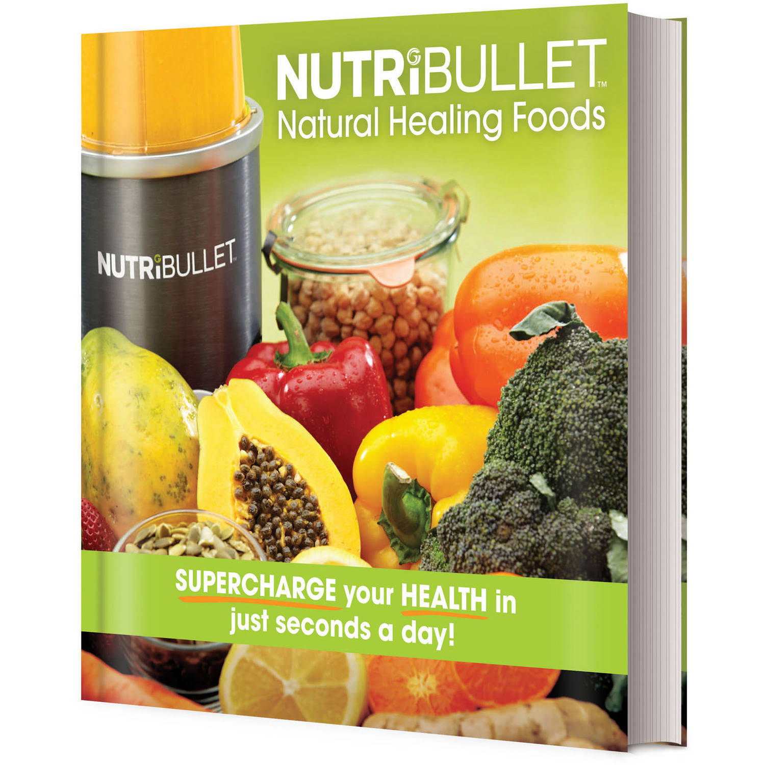 NutriBullet Natural Healing Foods Book