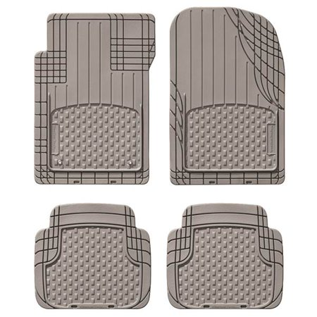 WeatherTech Trim-to-Fit All Vehicle Front And Rear Mat, Gray