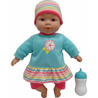 My Sweet Love 12.5-inch My Cuddly Baby with Sound Feature, Teal Outfit