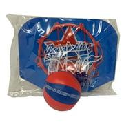 Over The Door Mini Basketball Hoop & Ball Indoor/Outdoor