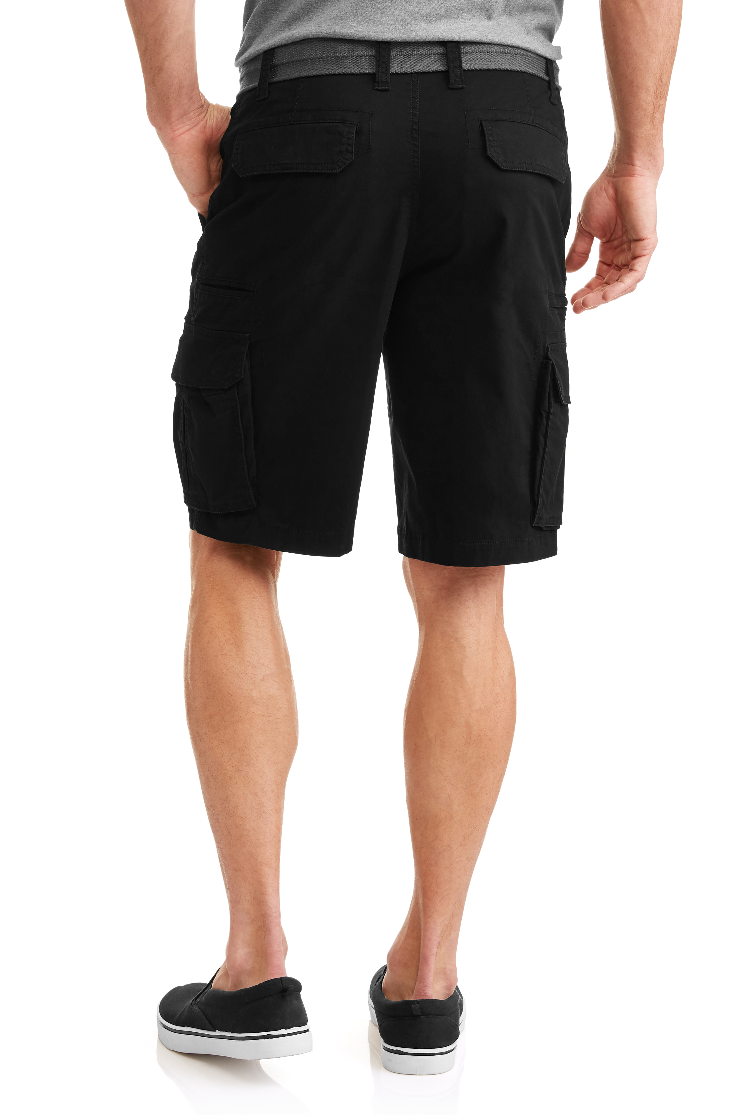 370750252d George - Men's Stacked Cargo Shorts - Walmart.com