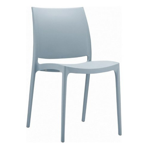 Compamia ISP025-SIL Maya Dining Chair - Silver - Set of 2