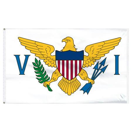 U.S. Virgin Islands Flag 3x5ft Nylon