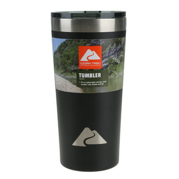 Ozark Trail Double Wall Vacuum Sealed Stainless Steel Tumbler 22Oz