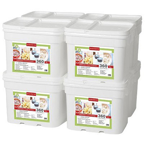 Lindon Farms 2880 Servings Freeze Dried Food Survival Emergency Storage Meals