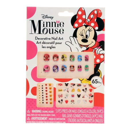 Minnie Mouse Nail Collection (Minnie Mouse Nails For Halloween)