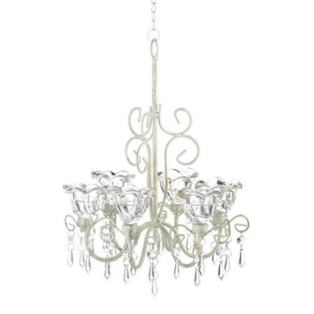 Majestic Crystal Candle - Crystal Blooms Candle Chandelier