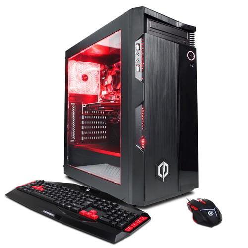 CYBERPOWERPC Gamer Ultra GUA600 w/ AMD FX-6300 Processor, Nvidia GeForce GTX 1050 Ti 4GB, 16GB Memory, 2TB HD & Windows 10 Home 64 bit Gaming Computer