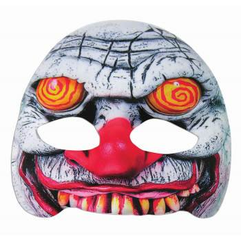 MASK-SWIRL EYE EVIL CLOWN - Evil Clown Masks For Sale