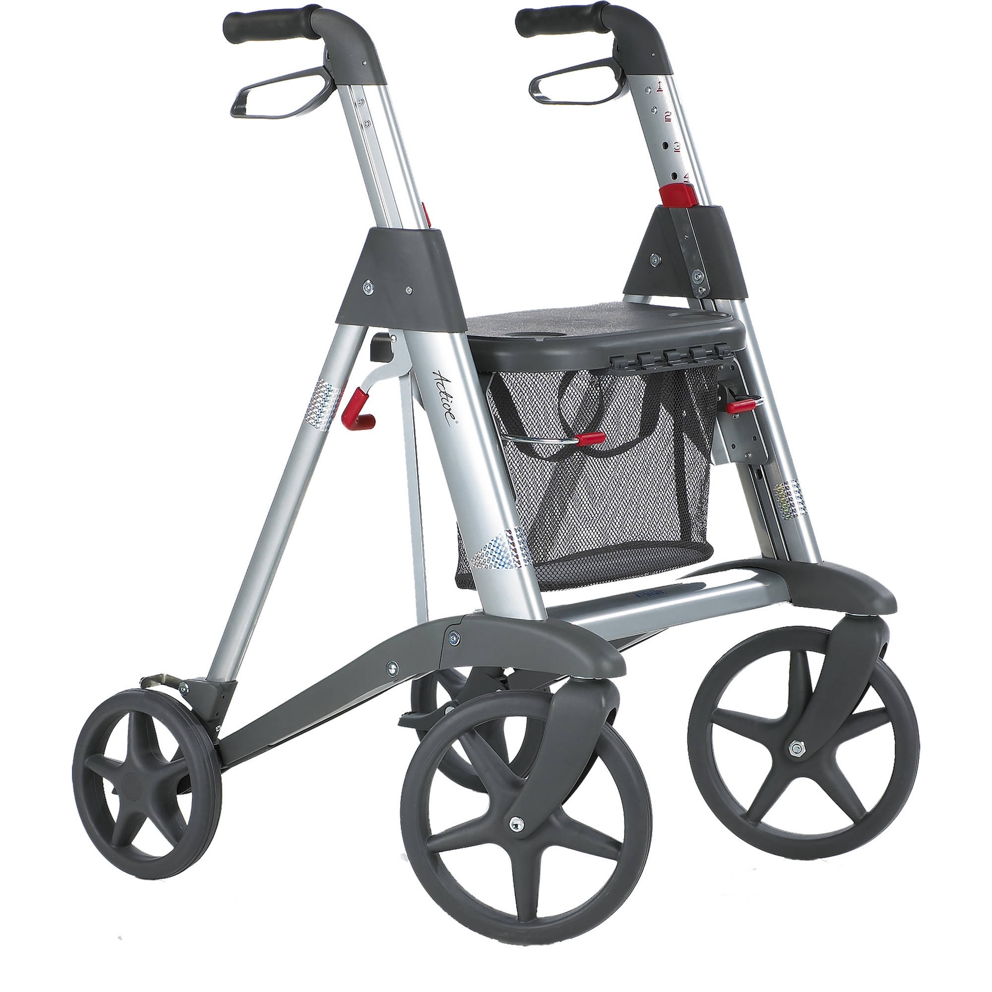 Image of Access Active Rollator Kit, Red