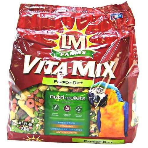 LM Animal Farms Vita Mix Parrot Diet 4 lb