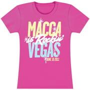 Beatles  Paul McCartney Rockin' Vegas Girls Jr Soft tee Pink